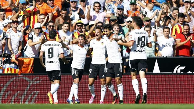 Valencia Merangsek ke Peringkat Kedua
