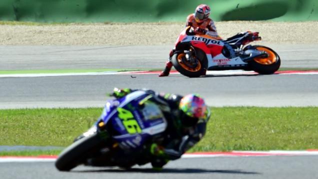 Marquez Tak Sangka Rossi Jadi Rival