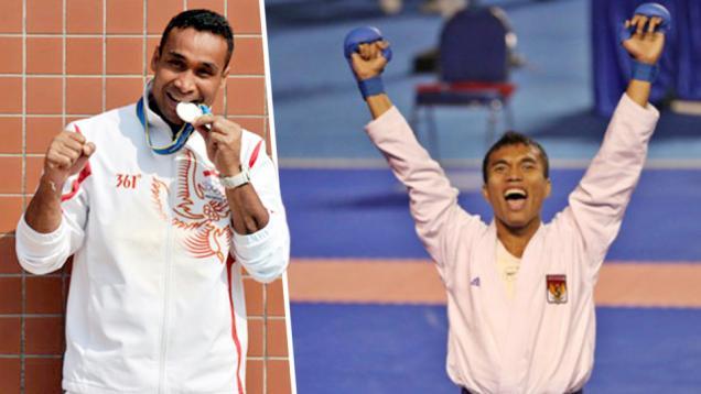 Dua Karateka Batal ke Incheon