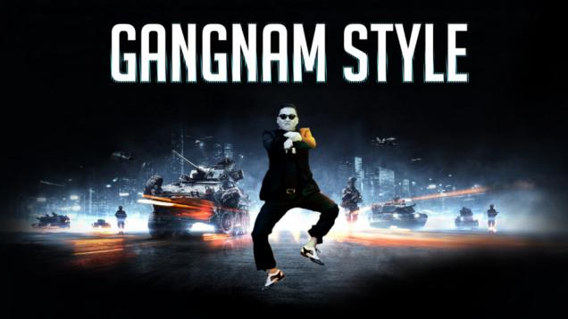 Gangnam Style Tutup Asian Games