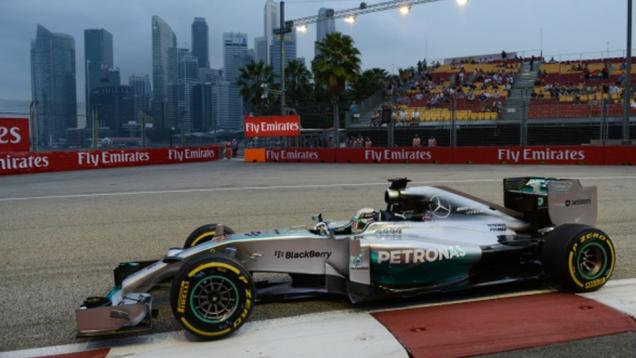 Hamilton Ungguli Alonso pada FP2 Singapura