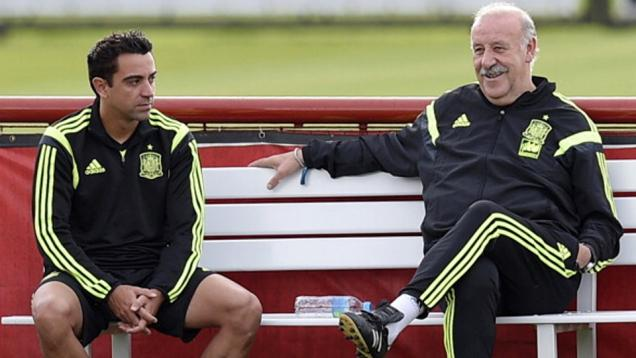 Xavi Hernandez Kecewa pada Del Bosque