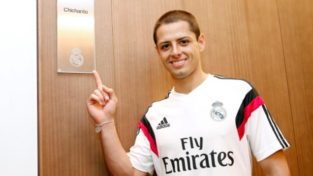 Tajam di Madrid, Chicharito Serang MU