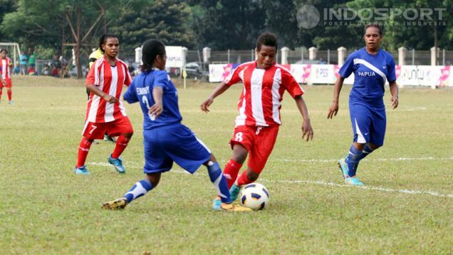 Srikandi Papua Jawara Sepakbola Wanita