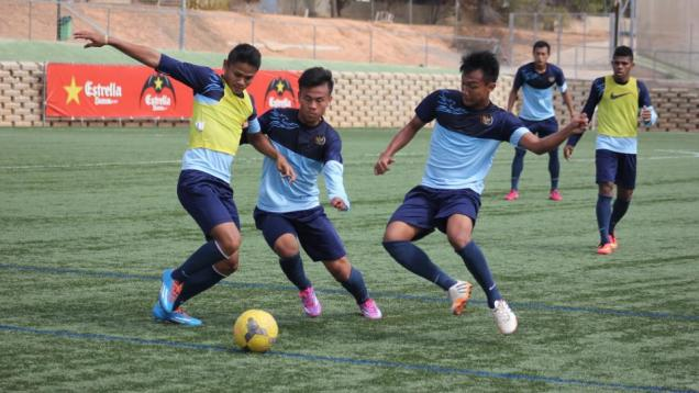 Timnas U-19 Tancap Gas Kontra Barcelona B