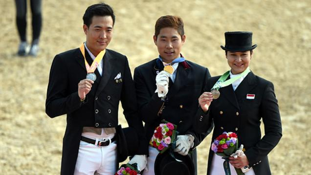 Larasati Sumbang Medali Perunggu