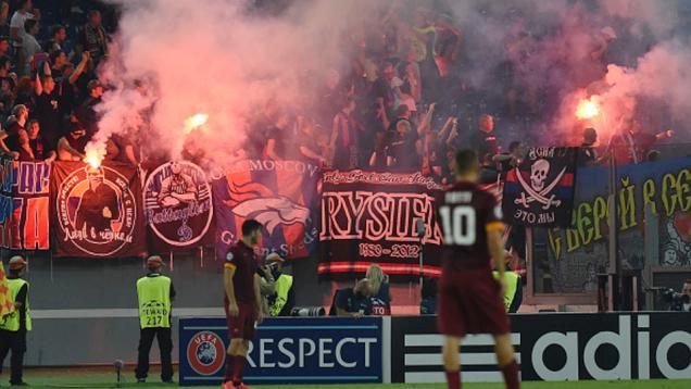 Suporter Berulah, UEFA Periksa AS Roma dan CSKA