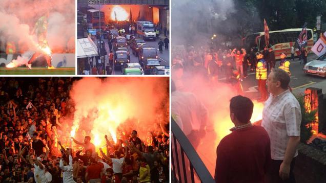 UEFA Hukum Galatasaray, Bebaskan Arsenal
