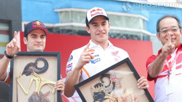 Kenangan Wayang untuk Marquez dan Pedrosa