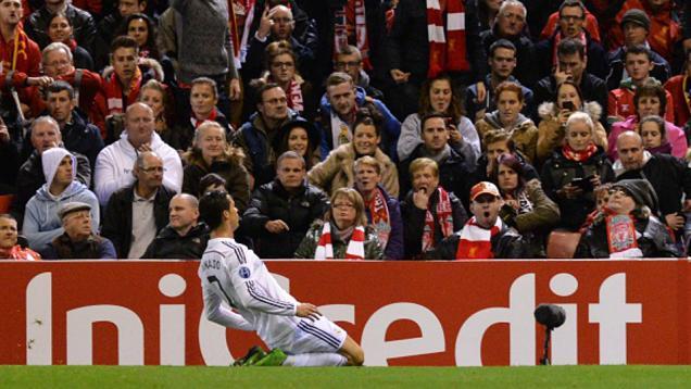Cetak Gol Debut di Anfield, Ini Kata Ronaldo