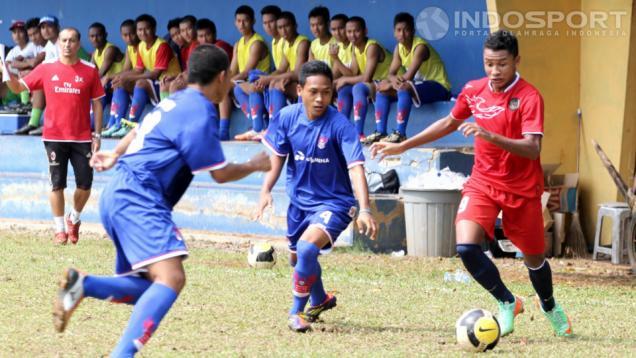 Timnas U-17 Bekuk Pertamina Soccer School