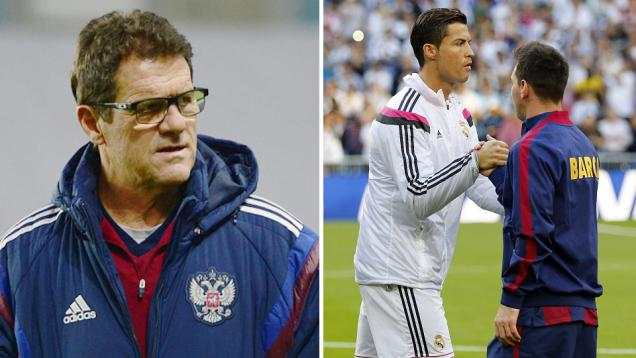 Capello: Messi Lebih Baik dari Ronaldo