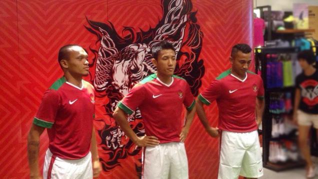 Inilah Kostum Baru Indonesia untuk Piala AFF