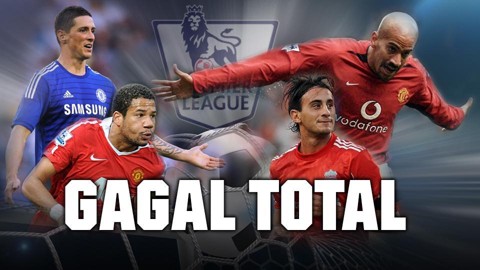 10 Pemain Gagal di Premier League