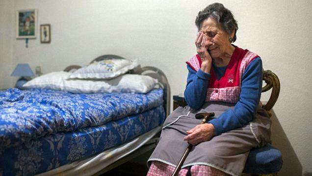 Vallecano Bantu Nenek dari Pengusiran