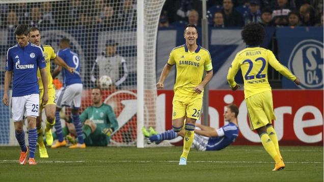 Gilas Schalke, Chelsea Melaju ke Babak 16 Besar Liga Champions