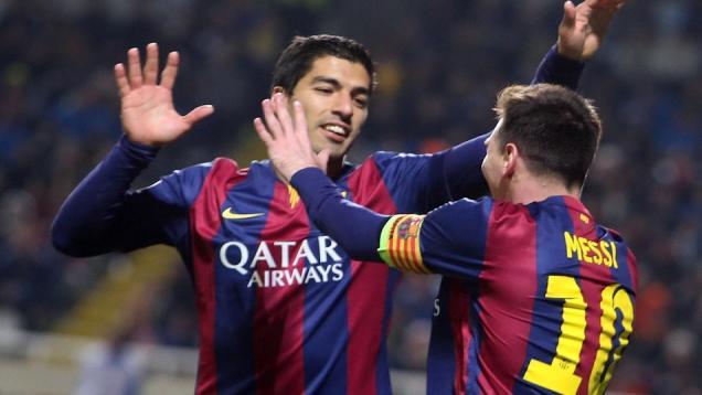 Messi Lampaui Raul, Suarez Cetak Gol Debut