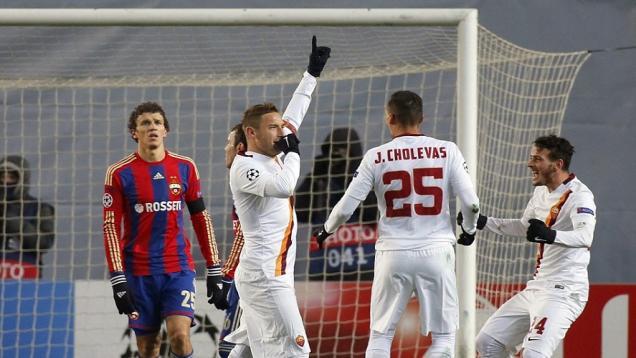 Totti Pencetak Gol Tertua di Liga Champions