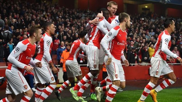 Arsenal Lolos Babak 16 Besar