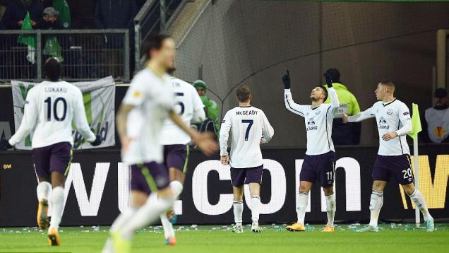Permalukan Wolfsburg, Everton Melaju ke Babak 32 Besar
