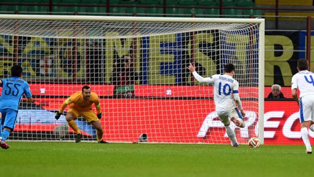 Gagalkan Penalti, Handanovic Kirim Inter ke Babak 32 Besar
