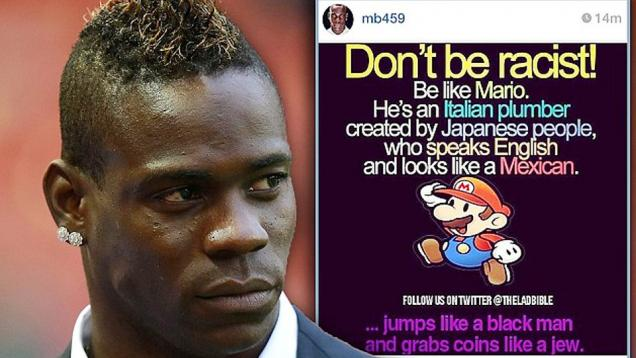 Mario Balotelli, King of Twitter 2014