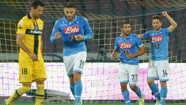 Napoli 2-0 Parma: Dua Gol Napoli Hempaskan Parma