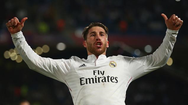 Gol Ramos Bawa Unggul Real Madrid di Babak Pertama
