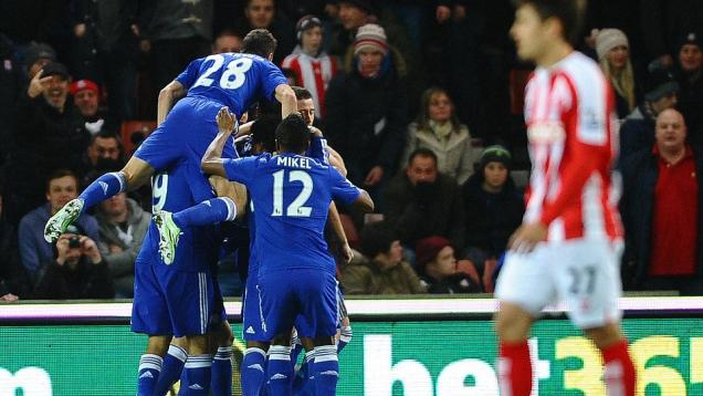 Stoke City 0-2 Chelsea: The Blues Kokoh di Puncak