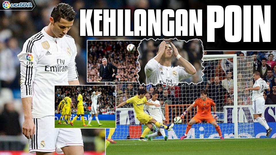 (VIDEO) Real Madrid 1-1 Villarreal: Los Blancos Kehilangan Poin Berharga