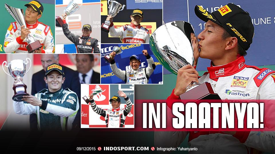 Rio Haryanto Menuju F1