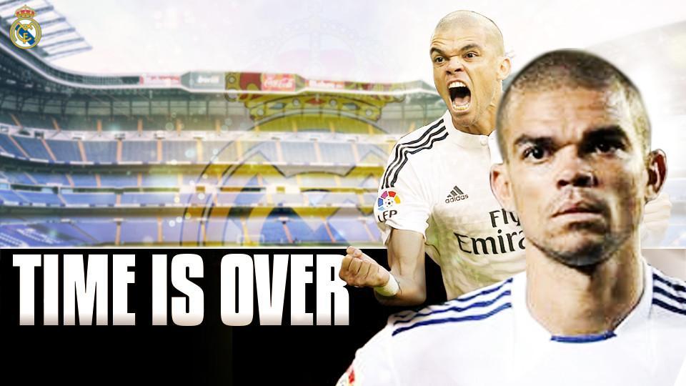 3 Alasan Pepe Harus Hengkang dari Madrid